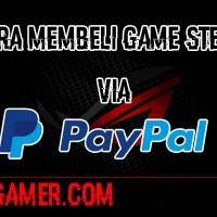 Cara beli game steam dengan Paypal