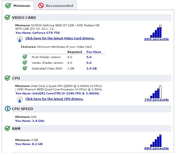 Spesifikasi Komputer GTA V