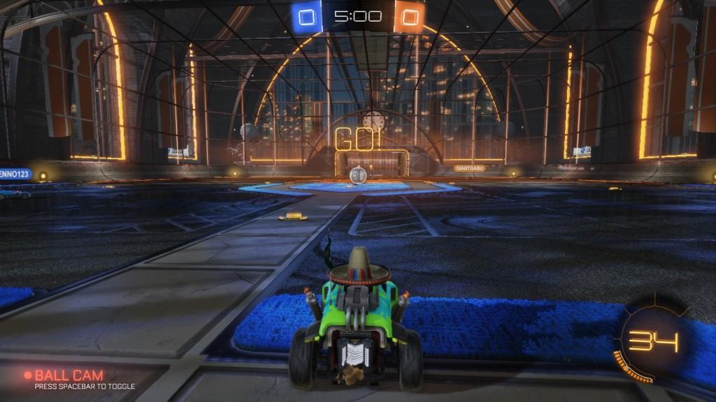 screenshot rocket league