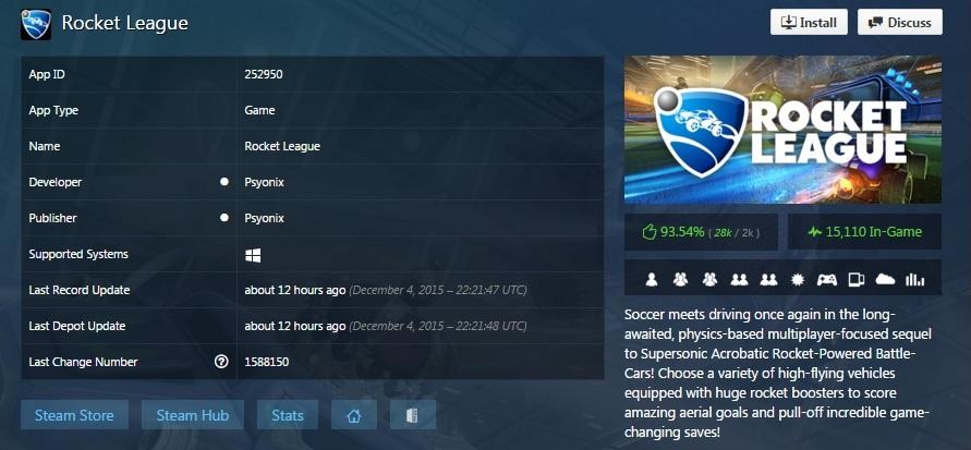review rocket league