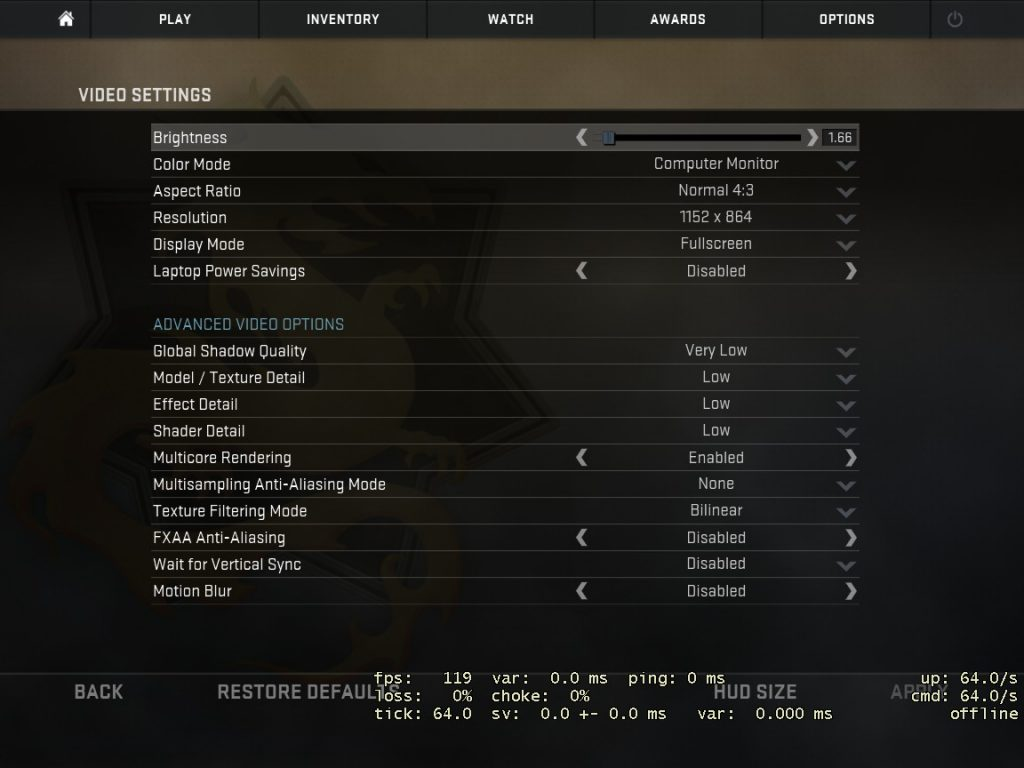 cara mengatasi lag counter-strike global offensive