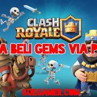 gems clash royale dengan pulsa